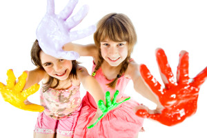 Children and paint (4)